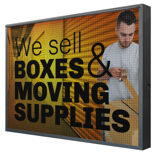 What Can an LED Sign Do for Your Self-Storage Facility?