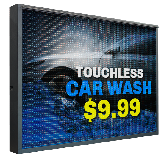 How LED Signs Make Your Car Wash Stand Out